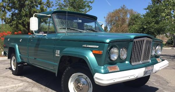 1971 Jeep J20 Jeep Salvage Cars Jeep Gladiator