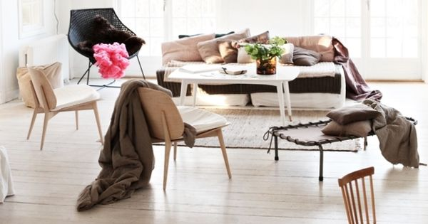 Trendy living room - nice image