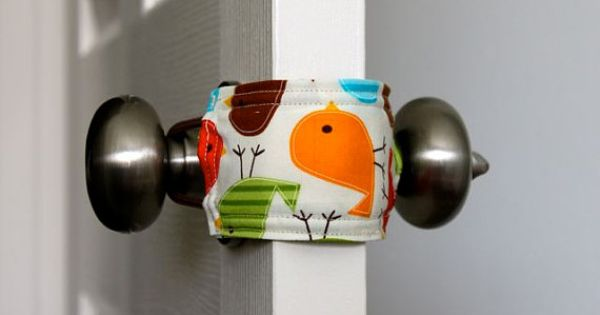Door Jammers- for keeping the door quiet in your kids rooms