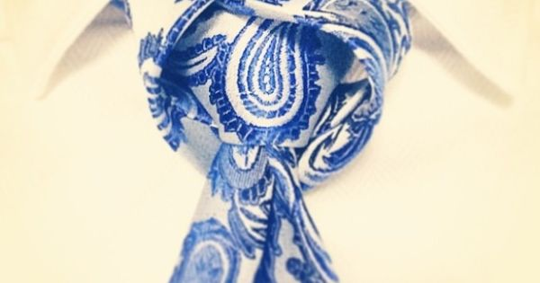 How to tie the Tulip knot for your necktie. | See more about Tie Knots, Tulip and Knot.