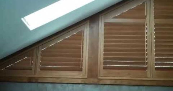 Angle Top Windows With Shutters Video Clerestory Windows Shutters Window Shutters