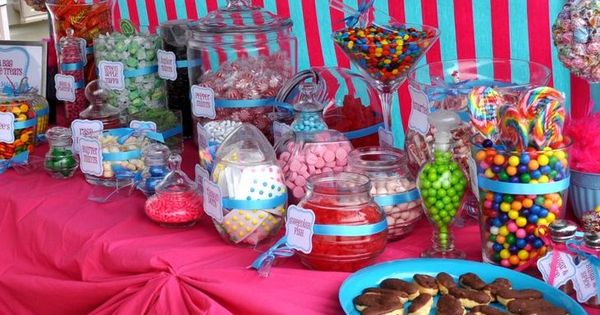Candy Bar 16th Birthday Party Ideas Pinterest Sweet