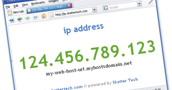 how to know ip address of other computer