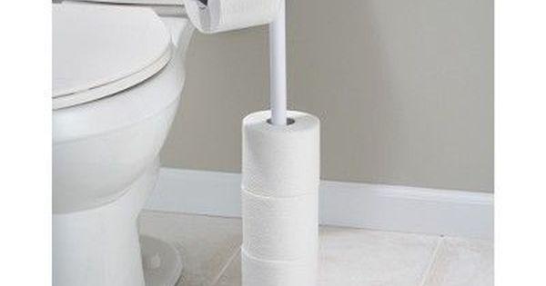 Free Standing Toilet Paper Holder White Interdesign Toilet Paper Stand Free Standing Toilet Paper Holder Diy Toilet Paper Holder