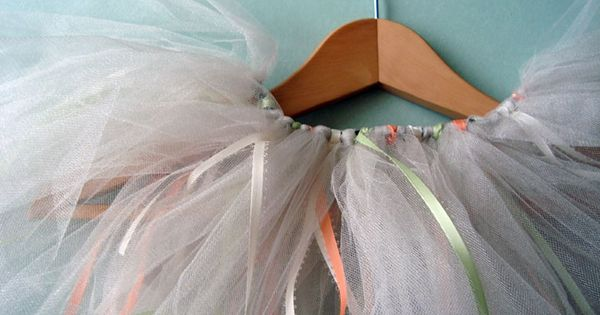 Tulle Tutorial - a fun birthday gift for a little girl