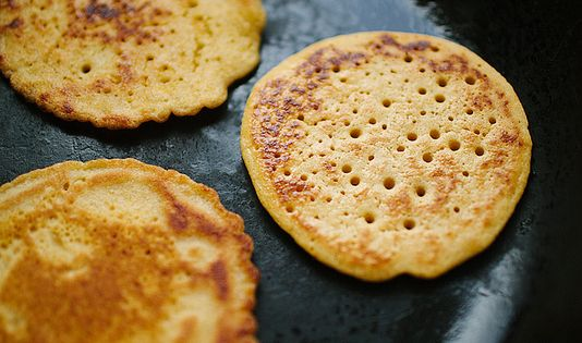 Chickpea Pancakes with Smoky Roasted Carrots // The Year in Food ...