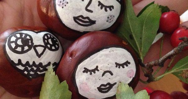 Basteln mit kastanien herbstideen autumn pinterest basteln mit kastanien kastanie und basteln - Herbstideen kindergarten ...