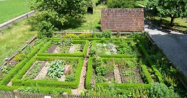 edible landscaping kitchen garden jardin potager
