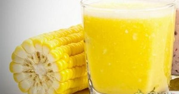 Receita De Suco De Milho Verde Receita Receita De Sucos