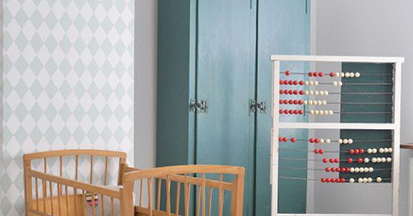 Roklamp kidsroom pinterest babykamer kinderkamer en jongen - Kleur kinderkamer jongen ...