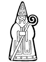 Coloring Page Saint Nicholas Day Saint Nicholas Coloring Pages