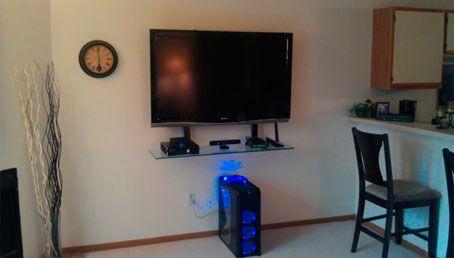 Base De Pared Para Televisor Led Smart Instalacion De Televisores Eb Bogota Colombia Www So Tv Montado En Pared Estantes Montados En La Pared Salones Pequenos