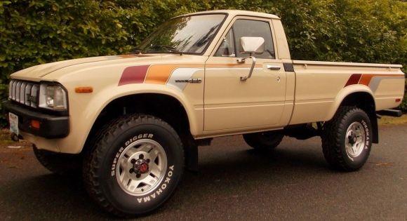 Clean 1982 Toyota Sr5 4x4 Pick Up Pick Up 4x4 Toyota Pickup 4x4 Toyota Trucks 4x4