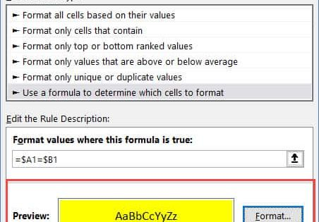 How To Compare Two Columns In Excel For Matches Differences Excel Workbook Column