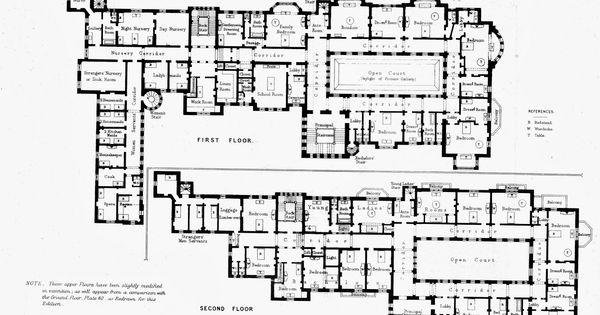 Harlaxton Manor Floor Plan 100 Medieval House