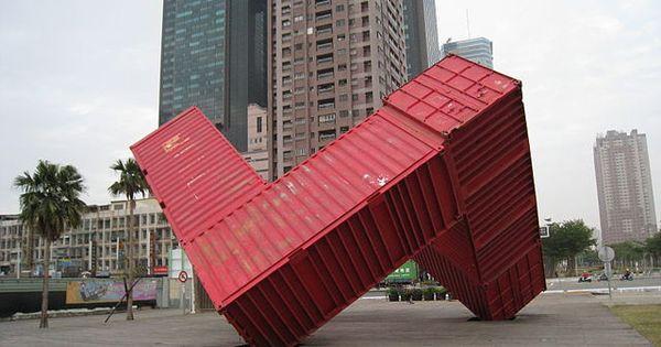 love container art. Black Bedroom Furniture Sets. Home Design Ideas