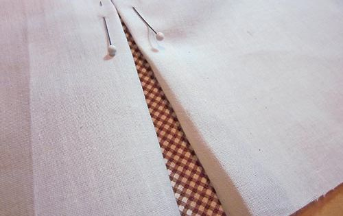 How To Make A Box Pleat Or Inverted Box Pleat Sewing Etc