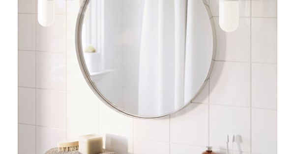 24 40 Grundtal Mirror Ikea The Mirror Comes With Safety Film On The Back Which Reduces The