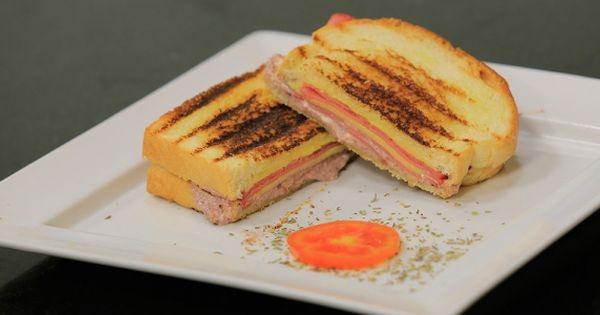 Cbc Sofra طريقة تحضير سندوتش لانشون بالجبنة شريف الحطيبي Recipe Food Sandwiches Rolls