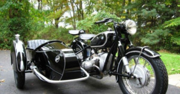 1955 bmw r50 with sidecar | want! | pinterest | sidecar, bmw and