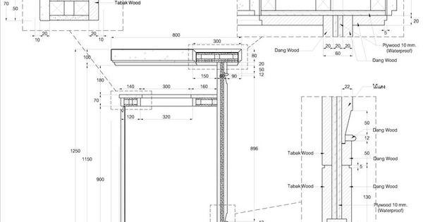 countertop detail drawing