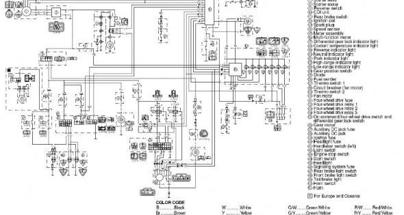 99 Grizzly 600 Wiring Diagram Diagram Grizzly Wire