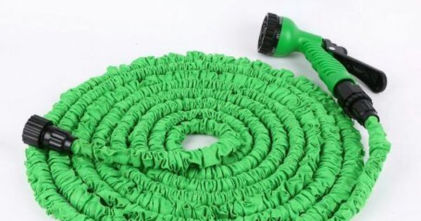 Kle Gardening Best Expandable Flexible Retractable Collapsible Garden Water Hose 50 With American Connector Free 7 Setti Water Hose Water Garden Setting Spray