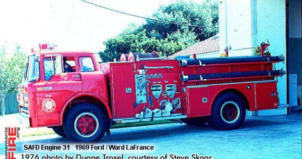 San Antonio Fire Department Ward Lafrance Apparatus All