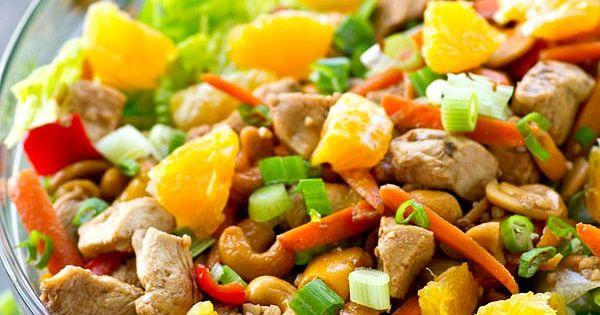 Salad with Chipotle Avocado Dressing | Recipe | Avocado Dressing ...