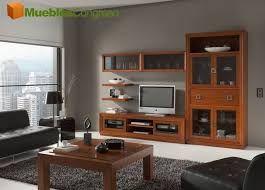 Resultado De Imagen De Pintura Paredes Para Muebles Color Cerezo Muebles Salon Comedor Muebles Salon Muebles Color Cerezo