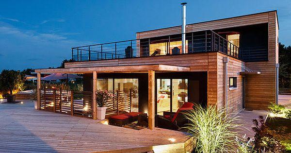 Booa constructeur maisons ossature bois prix direct fabricant maison bi - Fabricant maison container ...