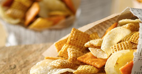 Chex party mix, Party mix and Vinegar on Pinterest