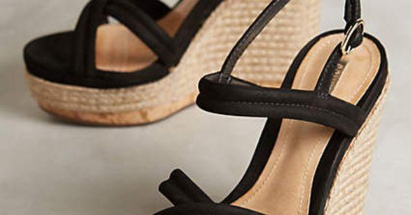 Heel sandals - #AnthroFave Online Exclusives Schutz Evy Wedges
