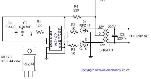 este circuito  u00e9 muito simples  usa menos de 12 componente