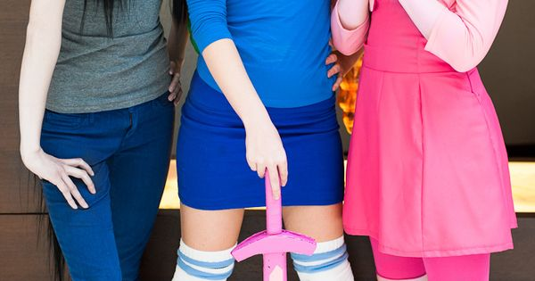 Cute Adventure Time Cosplay: posible halloween ideas