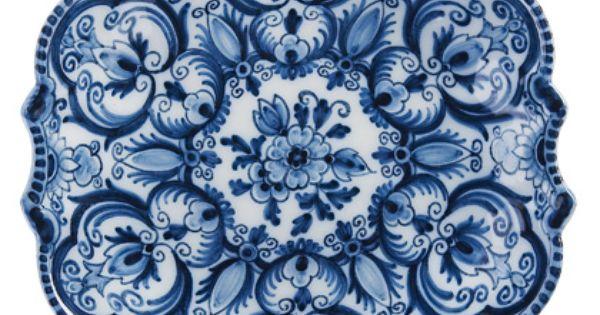 Makkum plate repinned by keva xo dishes blue stuff for Tichelaar makkum tegels