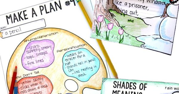 poetry writing activities for fourth grade