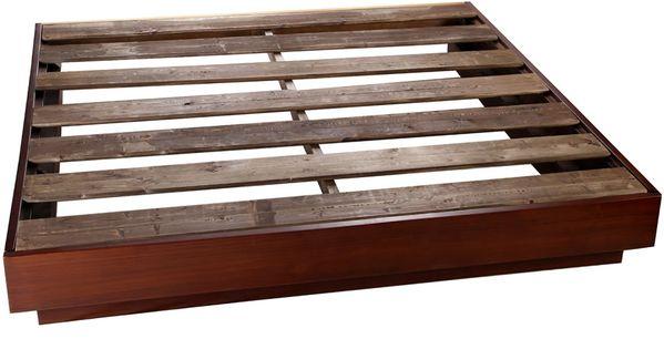 6 base para cama king size contempor nea tabaco miletto - Bases para cama ...