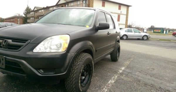 Offset Cr V W Custom Matte Paint Honda Crv Honda Cr V