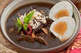 Resep Rawon Daging Enak Asli Surabaya Masakan Indonesia Resep Resep Masakan