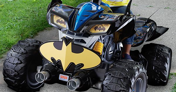 Power Wheels® Kawasaki Batman™ ATV | Power wheels, Atv and Fisher price
