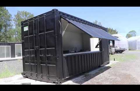 Container Homes Pop Up Shops Shipping Container Modifications Container Cafe Shipping Container Cafe Container House