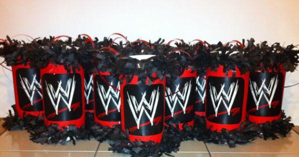 WWE Wrestlers Mini Pinata Party Favor/Goodie by KrystalsPinatas, $2.00