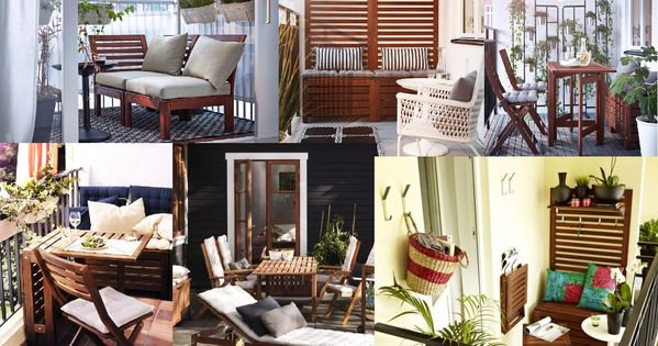 collage of ikea applaro patio deck furniture patio pinterest ideen. Black Bedroom Furniture Sets. Home Design Ideas