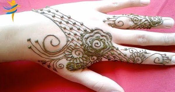 نقش بالحناء بسيط و سهل مع دردشة مع متابعينا و مشتركينا الاوفياء تعرفو على اختكم ام خولة Youtube Hand Henna Simple Mehndi Designs Henna Designs