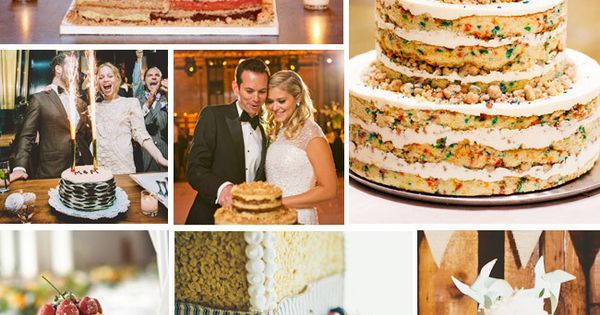 7 Naked WeddingCakes!