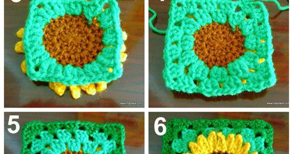 Free Crochet Angel Square Patterns : TOP 10 Free Crochet Granny Square Patterns Crochet ...