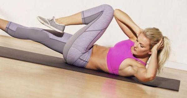 Ejercicios para perder barriga y fortalecer el abdomen en - Ejercicios para perder barriga en casa ...