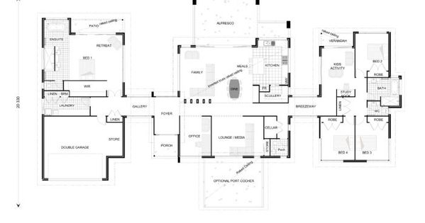 Rochedale 394 our designs western australia builder gj for Western homes floor plans