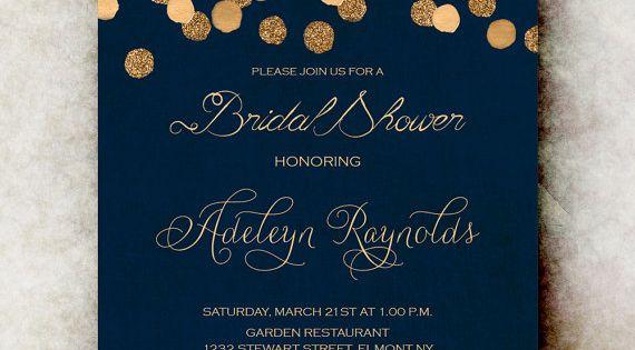 Unique gala invitation